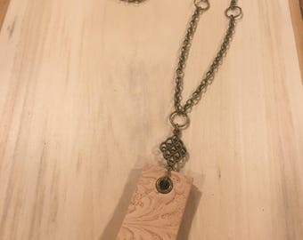 Antique Brass Necklace