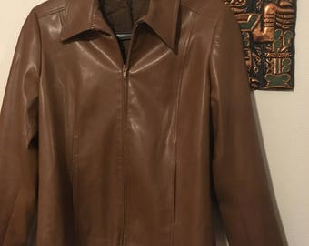 T38 (had) 70's brown jacket