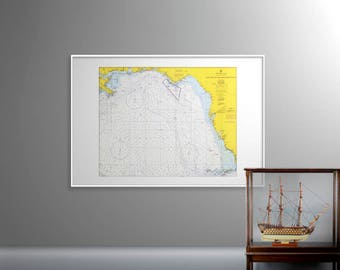 Key West to the Mississippi River | Old Map of Key West – Print – Key West, Florida, Mississippi