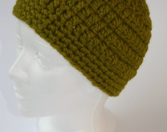 Women's Green Beanie