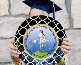 Graduation Ceramic Gift Plate