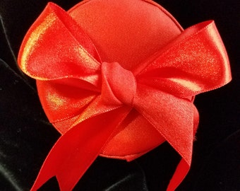 Red Satin Gift Box