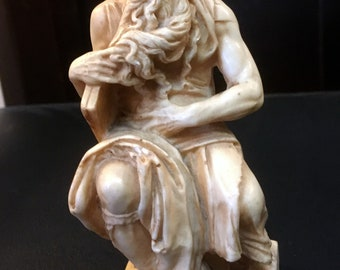 Moses By Michelangelo Figure Statue