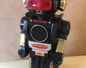 Magic Mike Vintage Robot Toy