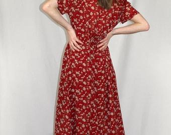 Floral Prairie Dress
