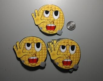 Stranger things waffle sticker