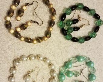 Bracelet and Earring Sets