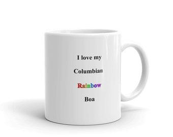 Columbian Rainbow Boa Mug Columbian Rainbow Boa Gift
