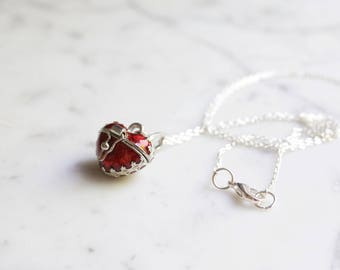 Opening Heart Locket Necklace