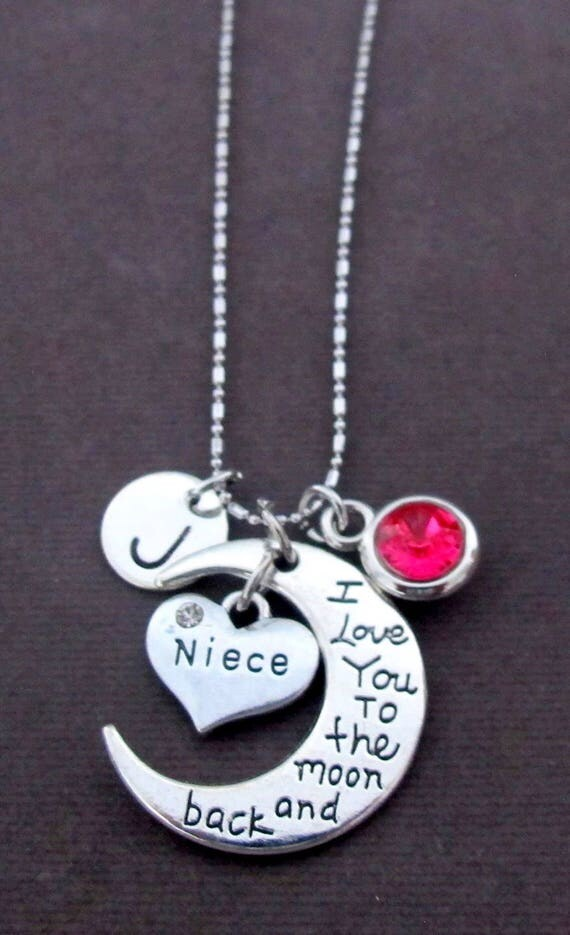 Personalized Niece Necklace,Gift for Niece,Niece Jewelry,I Love You Niece Necklace,No1 Niece, Best Niece,Special Niece, Free Shipping In USA