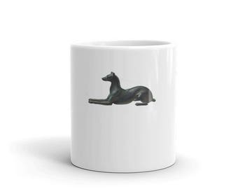 Greyhound Dog Coffee or Tea Mug