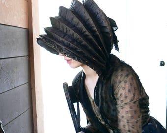 Antique Calash Bonnet