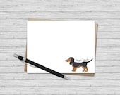 Custom Flat Note Card - D...