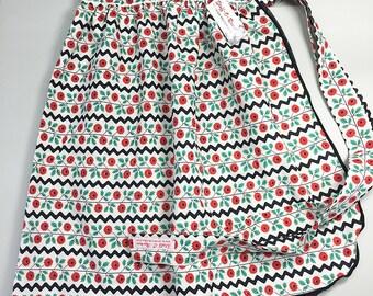 Skirt Apron - Vintage Pin Up Style - Rick Rack