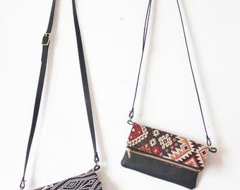 Small Crossbody, Small Boho Purse,  Gift Under 50, Boho Gift for Her, Small Day Bag, Boho Organizer, Ethnic Boho Purse