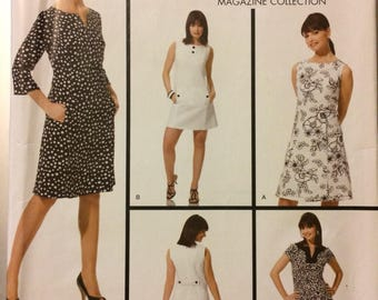 Simplicity 3744 Misses' Dresses Sewing Pattern Size 6-14 Bust 30-36 inches Uncut  Complete