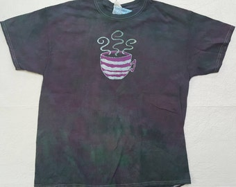 XL Unisex Coffee Cup Batik