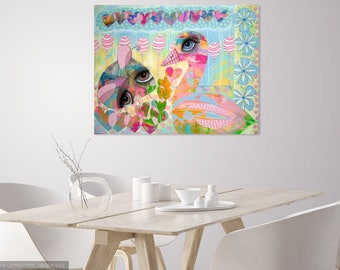 Trust and Oneness (Original Painting) 95x75x4cm