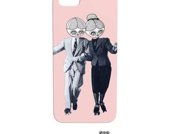 Toi pi moi - Phone Case - iphone - samsung - vintage photography - collage
