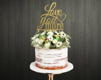 Cake Topper / Cake Toppers / Wedding Cake Topper / Engagement Cake Topper / Love Cake Topper / Cake Topper for Wedding / Custom Cake Topper