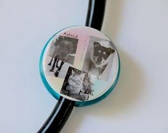 Pic Collage Intagram>> The ORIGINAL Stethoscope ID Tag--Custom Photo--