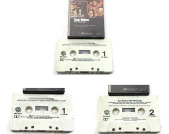80's van halen - fair warning | cassette tape