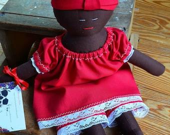 "15"" Madama Rag-style Doll"
