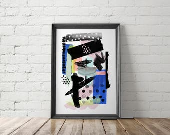 Modern Abstract Printables, Modern Art Prints, Contemporary Prints, Modern Poster, Abstract Printables, Brushstrokes Prints, Abstract Art