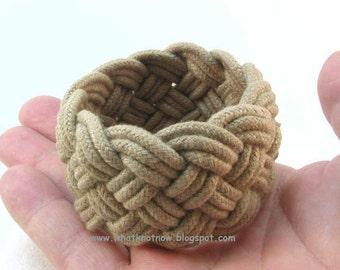 olive rope bracelet turks head knot sailor knot bracelet braided bracelet rope jewelry nautical bracelet 3261