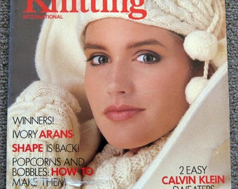 Vogue Knitting International Fall Winter 1987
