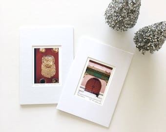 Stocking Stuffer Small Art Prints, Miniature Art, Matted Photography Ready to Frame Fine Art Prints, Affordable Gifts Under 25 ACEO Art