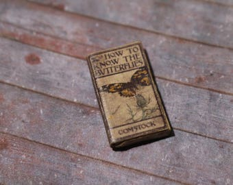 Miniature Book --- How to Know the Butterflies