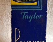 1950s Taylor Instrument Roast Meat Thermometer w/original Litho Box & Instructions