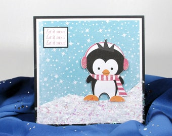 First Christmas card, Baby's 1st Christmas card, Christmas card handmade, girl's Christmas cards, Christmas card for kids