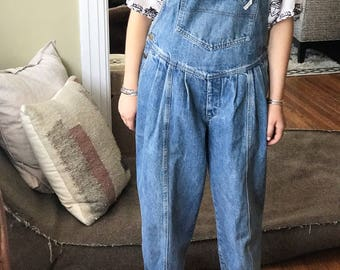 Vintage Collectible Guess Overalls fits Adult sz 26 27 28