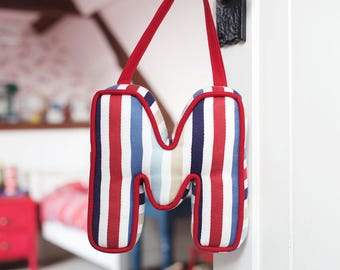 Hanging Letter Cushion