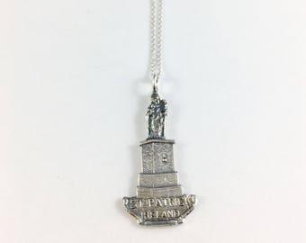 Ireland Necklace, Ireland Jewelry, Ireland Charm, St Patrick, Irish Gift, Irish Jewelry, Ireland Souvenir, Spoon necklace, Spoon Jewelry