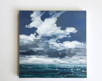 "Fair Winds • original 8x8"" oil painting"