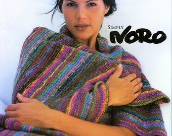 Simply Noro - Jane Ellison Knitting Pattern Book 15 Easy Knit for Women Men Home