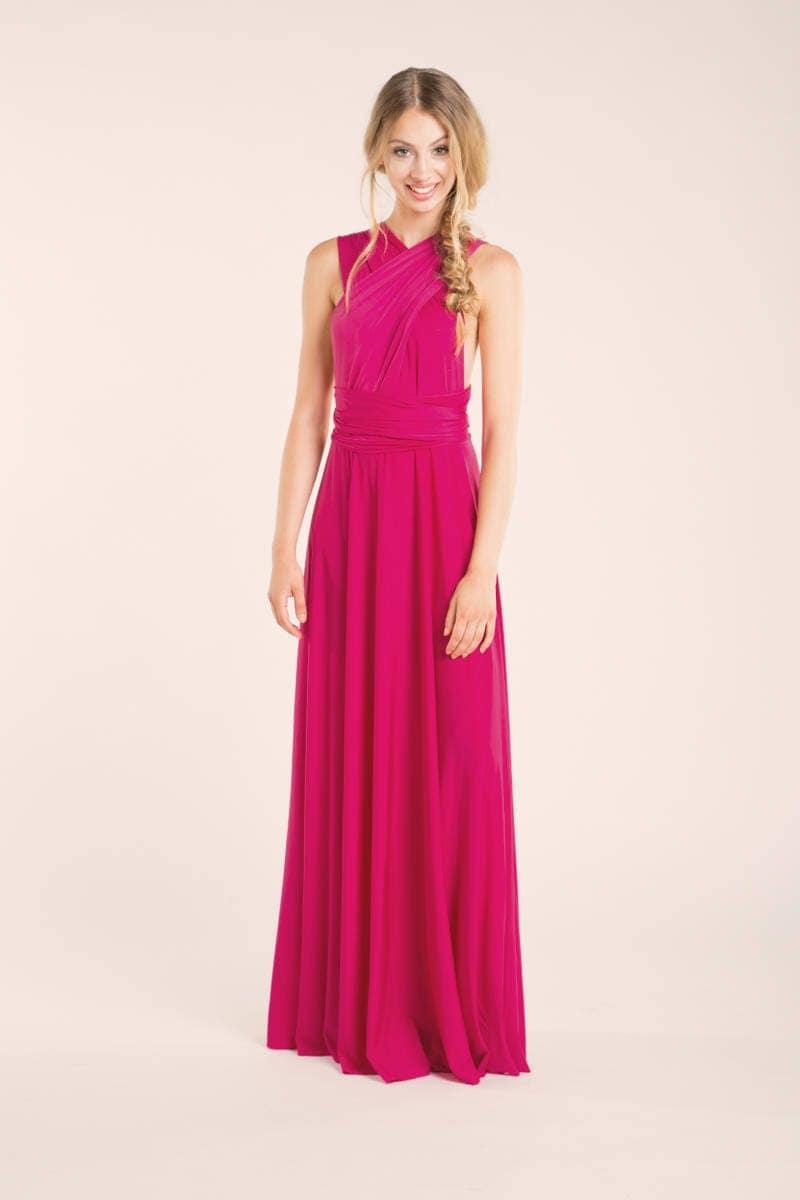 Pink bridesmaid dress long dress hot pink bridesmaid details pink bridesmaid dress ombrellifo Image collections