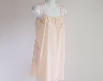 1920s Silk Step In Cami-Teddy - size L - XL