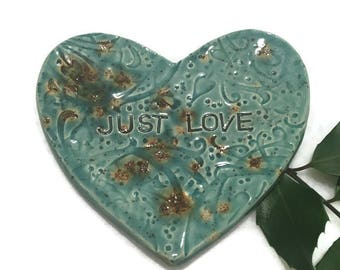Just Love Spoon Rest in Pale Blue - Ready to Ship