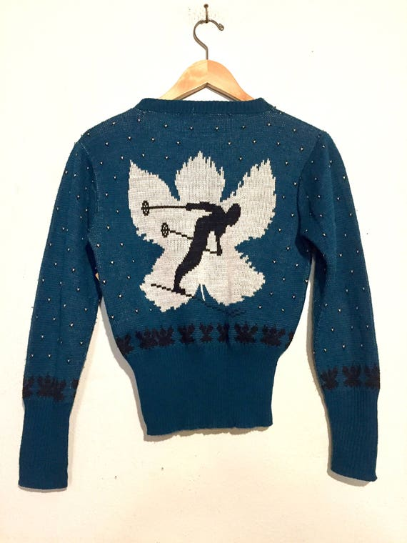 Double Sided Ski Sweater