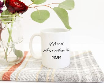 Return to MOM Mug | gift, kids, homeschool, work at home, mom life, fun mug, mom gift
