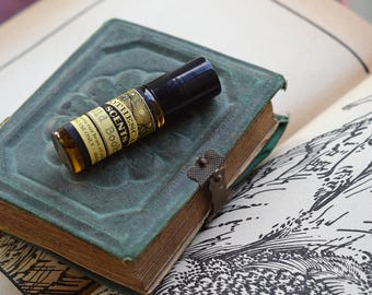 OLD BOOKS Perfume Oil - Vanilla, Aromatic Woods, Leather, More - Choose From Four Sizes!