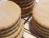 Undecorated Sugar Cookies, Naked Cookies, Christmas, Kids School Party, Christmas Decorating Party