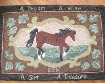 A Dream Come True Hooked Rug Pattern