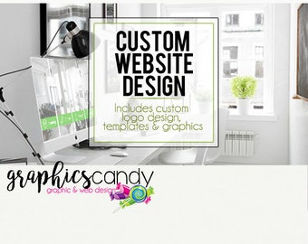 Custom Website Design - Installation and Design Service