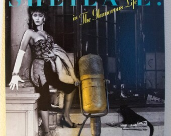 """ON SALE Sheila E (with hit lyrics from Prince) Vinyl Record 1980s Latin Fused Dance Pop """"In The Glamorous Life"""" (1984 Wb w/""""The Belle Of St."""