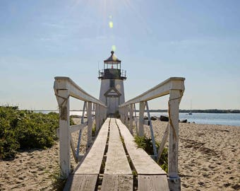 Brant Point Lighthouse, Nantucket Pictures, Coastal Home Decor, Home Interior Art, Summer Pictures, New England Art, ACK Home, Lighthouses